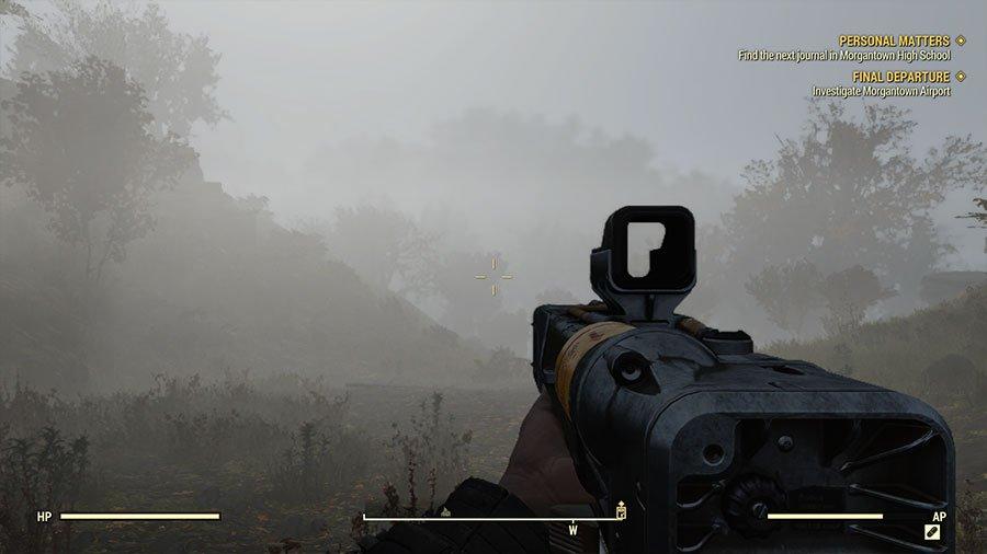 Fallout 76 - Mgła