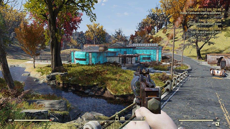 Fallout 76 - Miasto