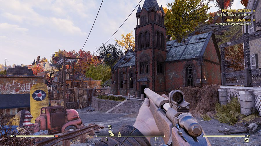 Fallout 76 - Krajobraz