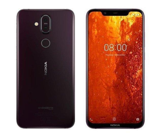 Nokia 8.1 zdjecia