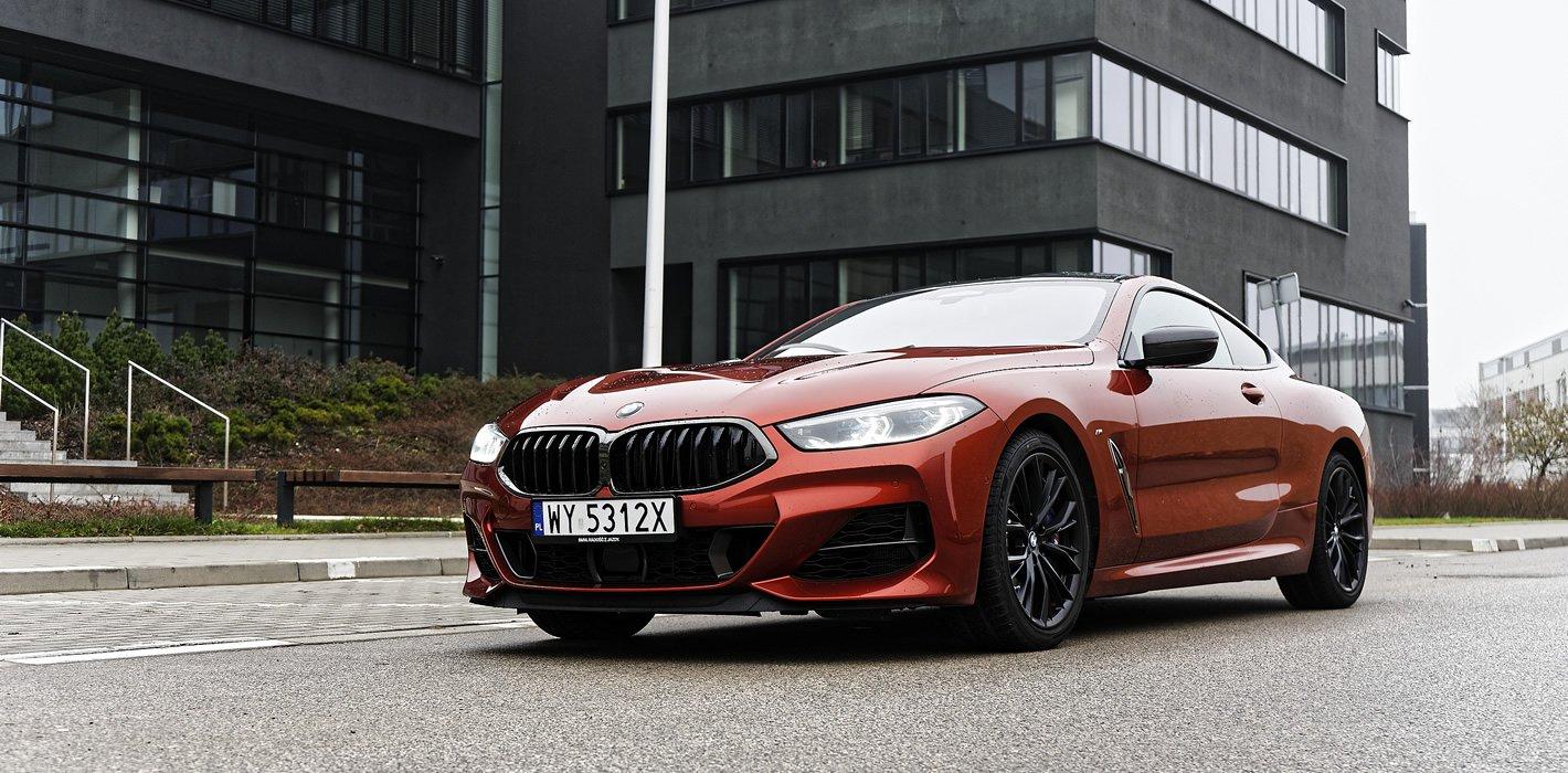 BMW M850i xDrive jest bardzo wyciszone