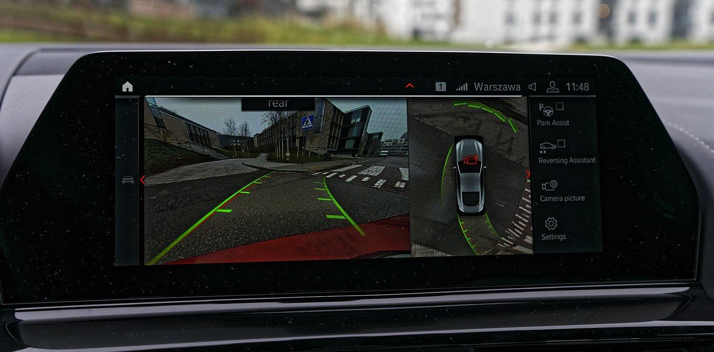 BMW - system kamer 360 stopni