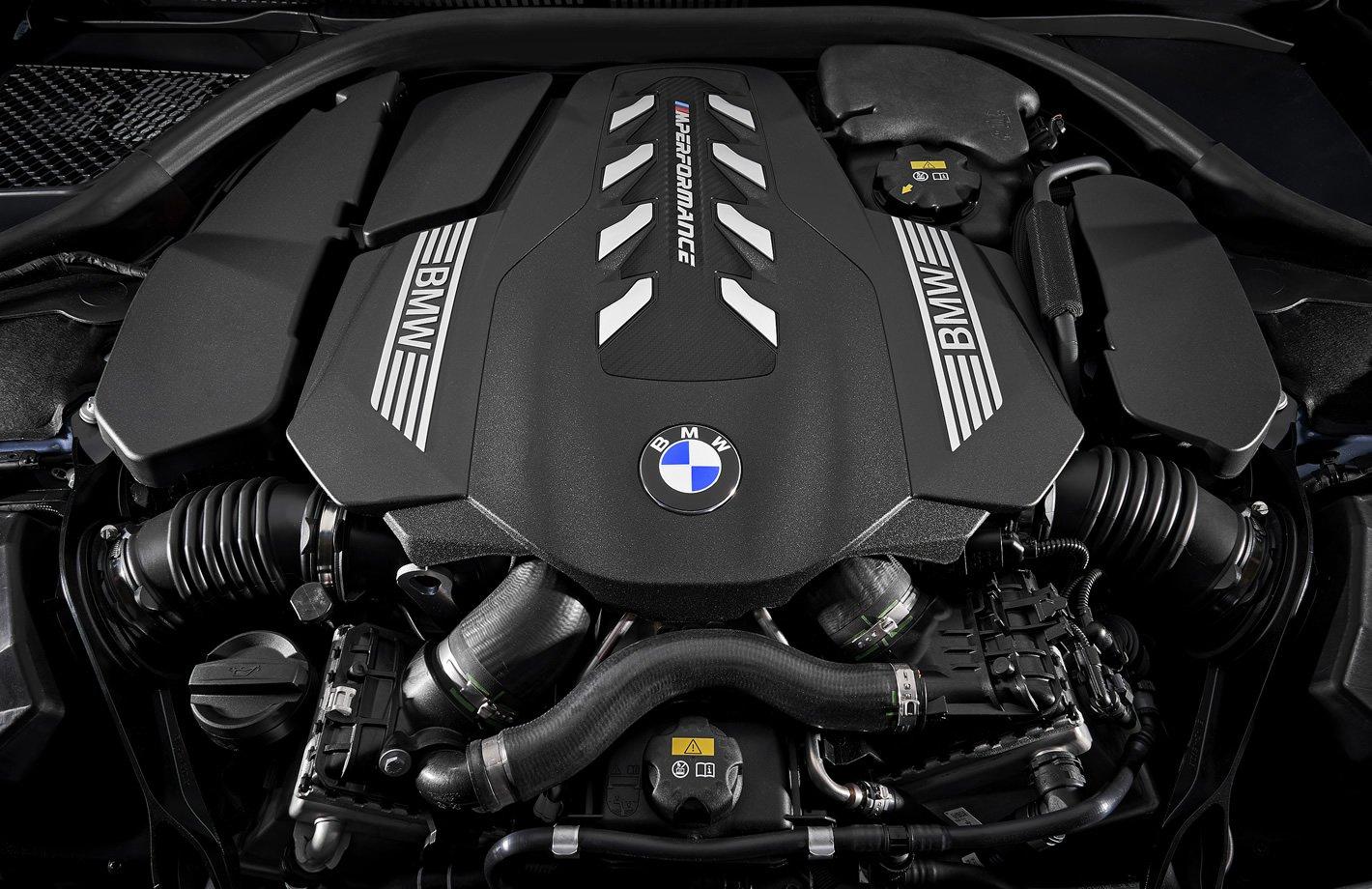 BMW M850i xDrive - silnik 4.4 l o mocy 530 KM