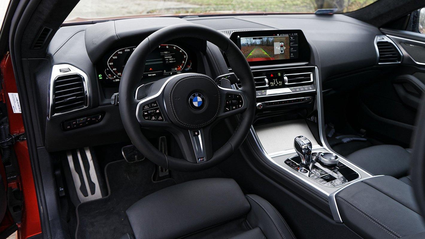 BMW M850i xDrive - wnętrze