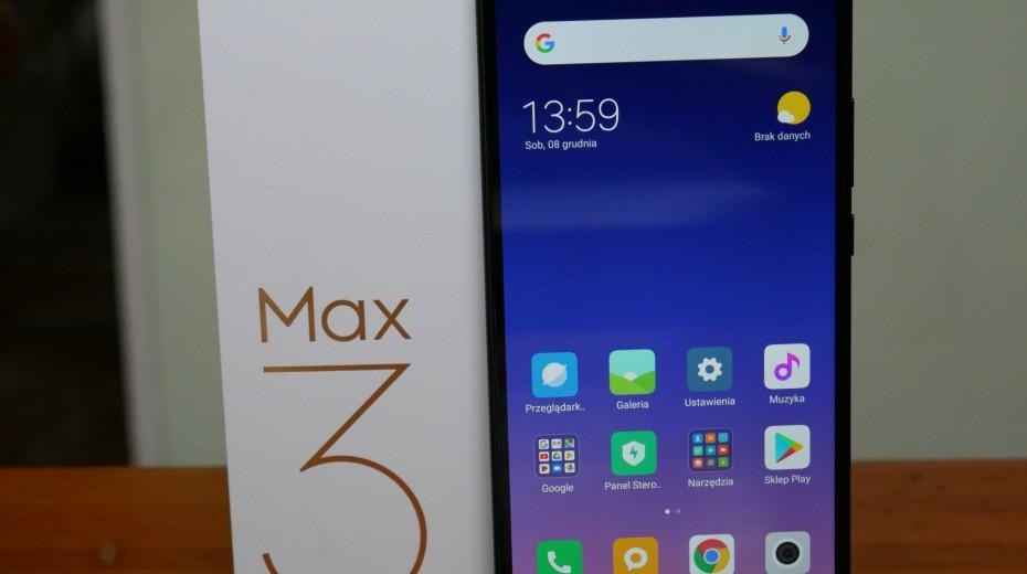 Wielki nie tylko rozmiarem. Recenzja Xiaomi Mi Max 3