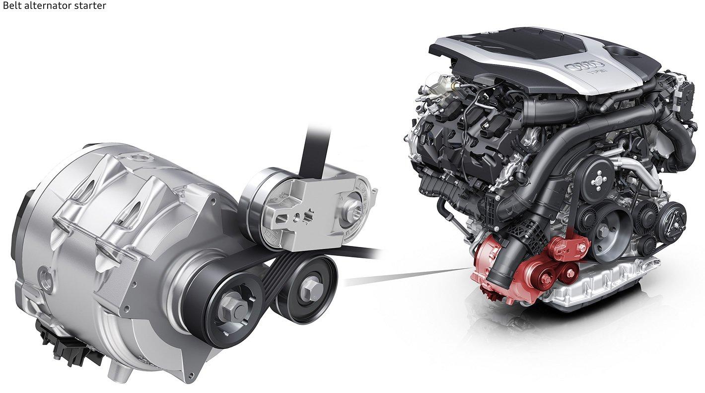 Audi A6 - system mild hybrid