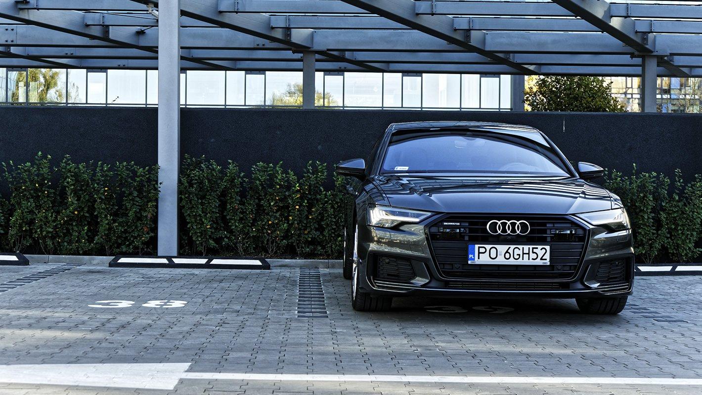 Audi A6 z przodu