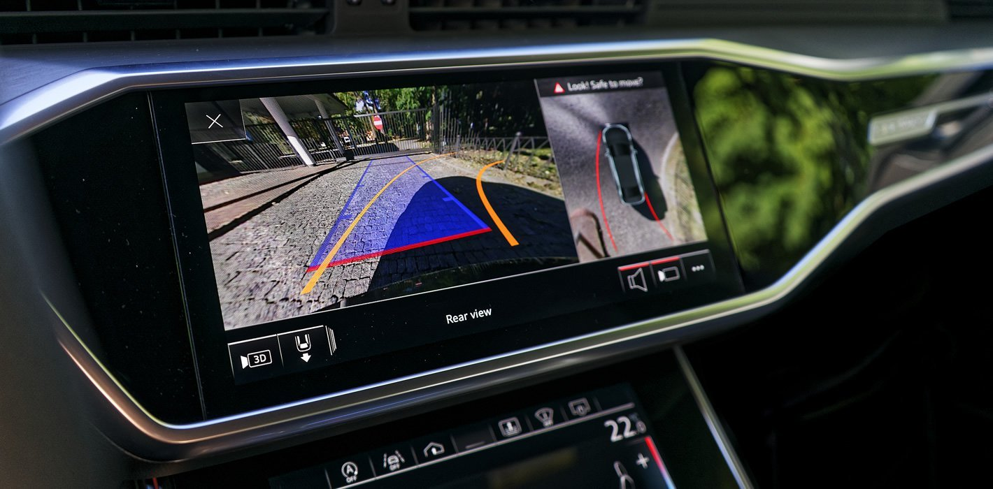 Audi A6 - kamera 360 stopni