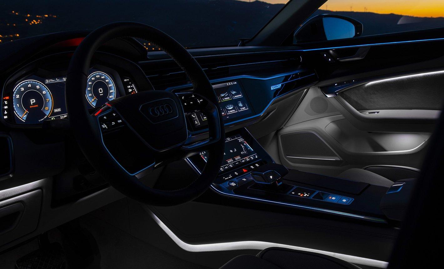 Audi A6 - oświetlenie nastrojowe