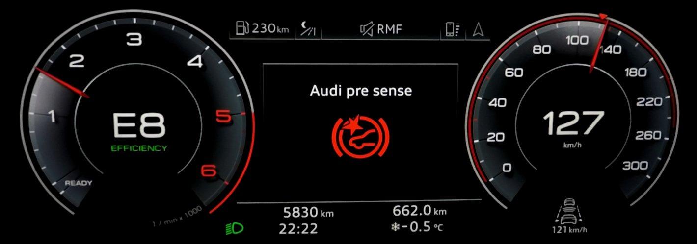 Audi A6 - Pre Sense