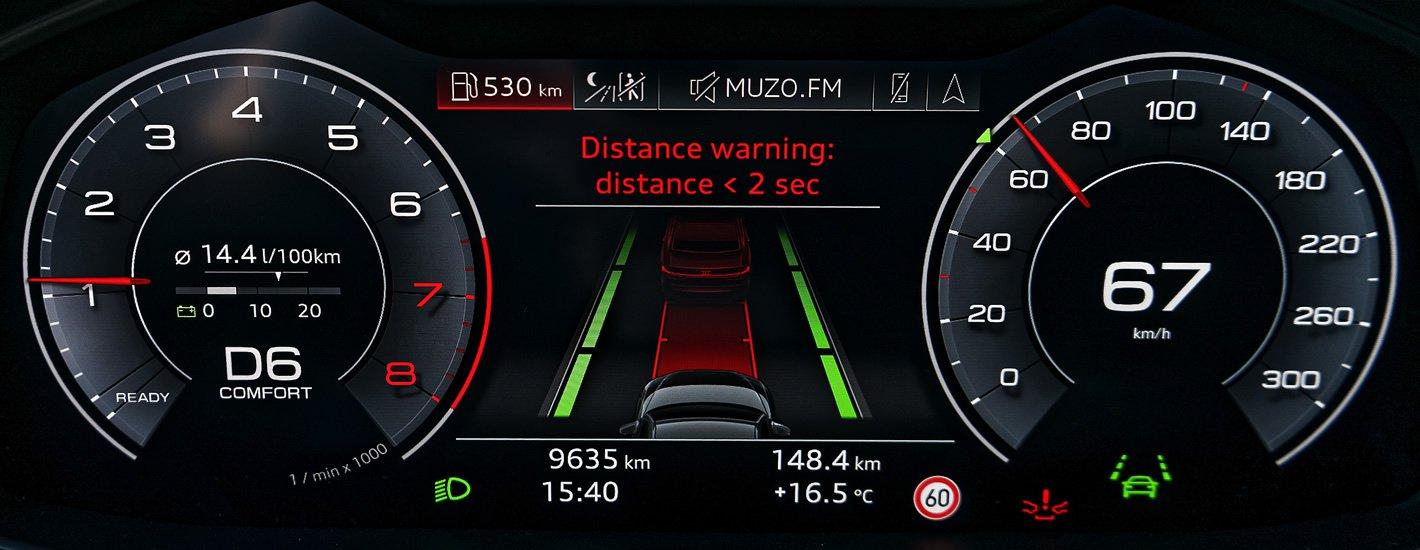 Audi A6 Pre sense