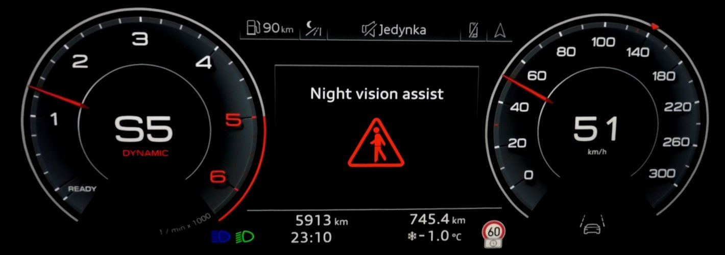 Audi A6 - Night Vision