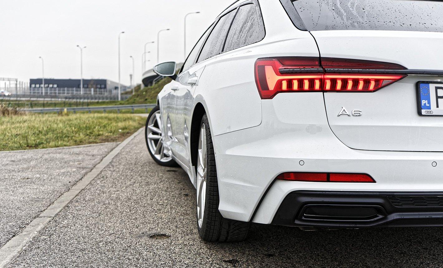 Audi A6 - tylna skrętna oś