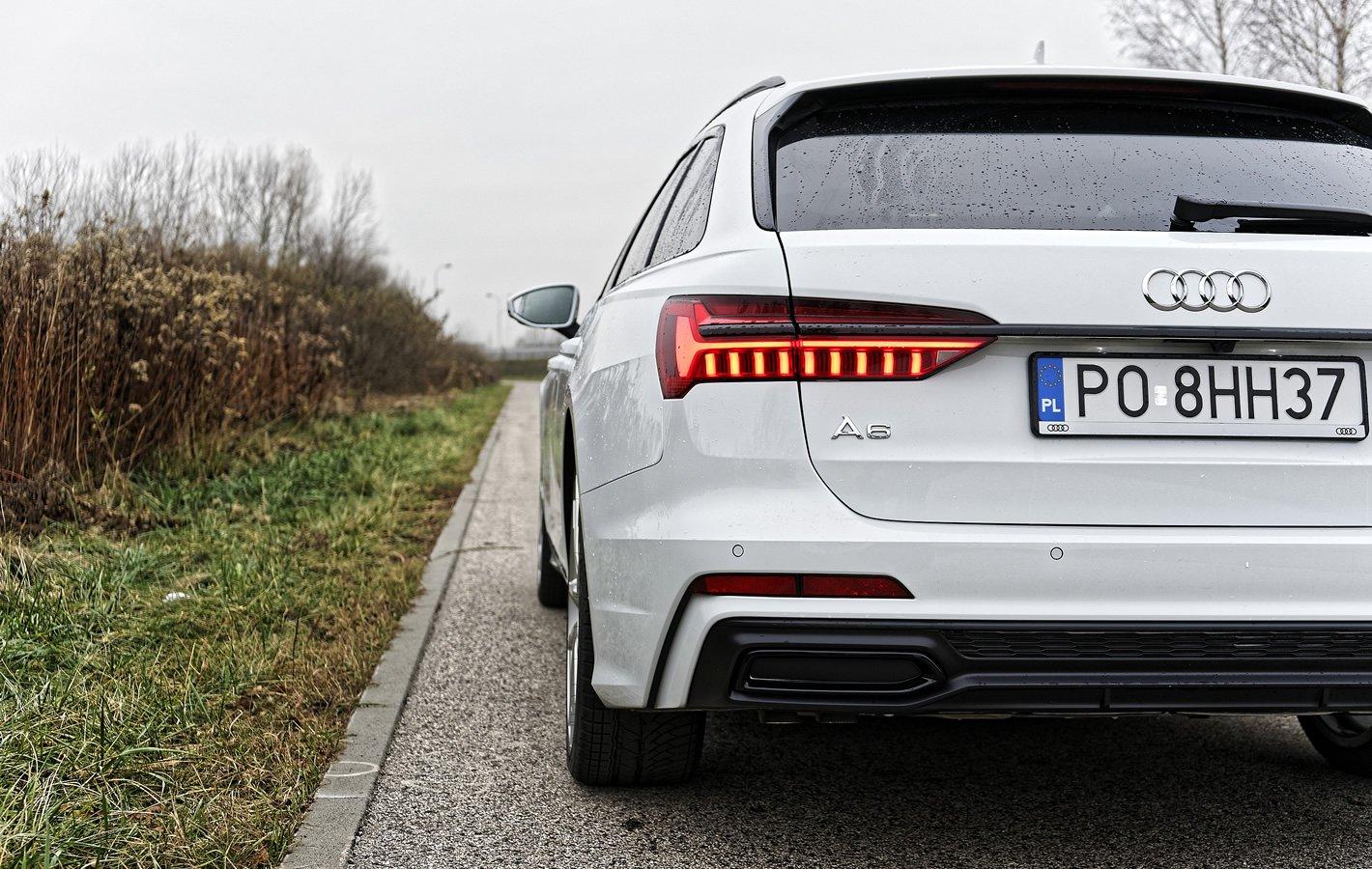Audi A6 Avant - tylne lampy