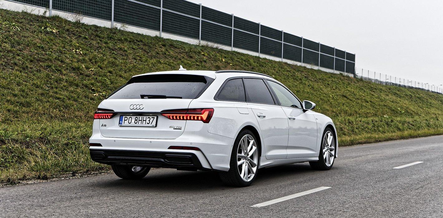 Audi A6 Avant z tyłu