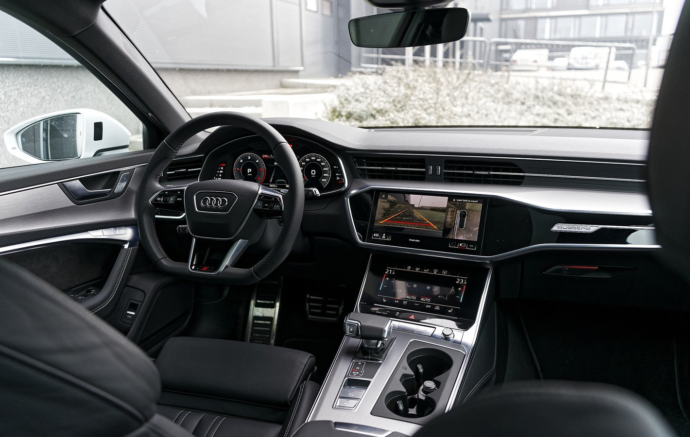 Audi A6 Avant w środku