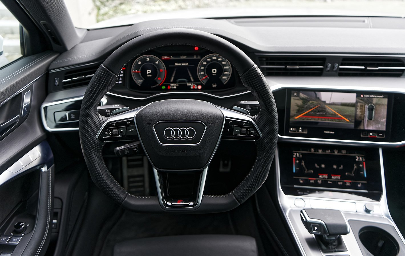 Audi A6 - kierownica