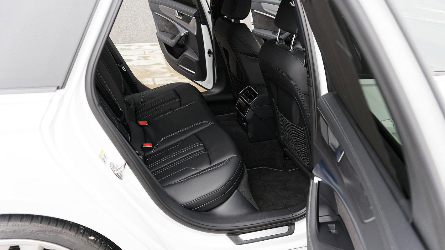 Audi A6 Avant - ilość miejsca z tyłu
