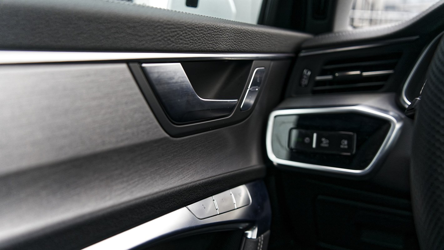 Audi A6 - jakość wykończenia wnętrza