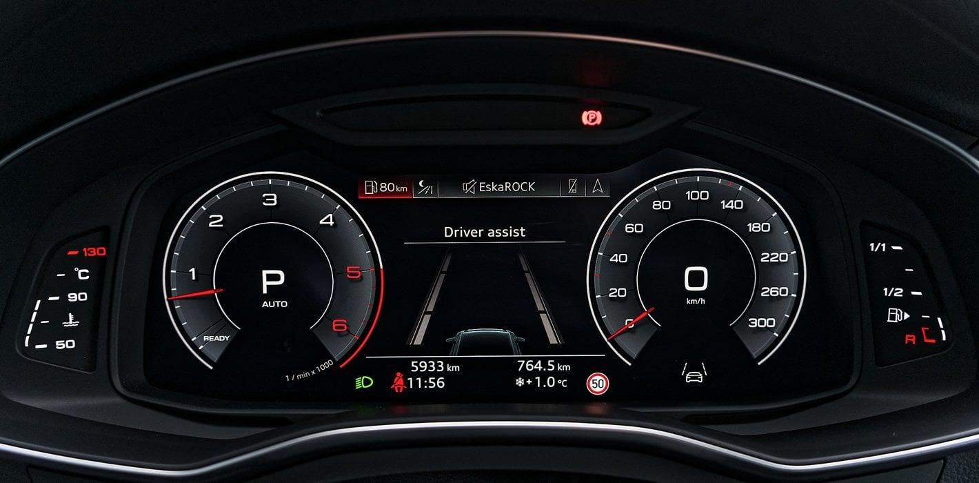 Audi A6 - wirtualny kokpit