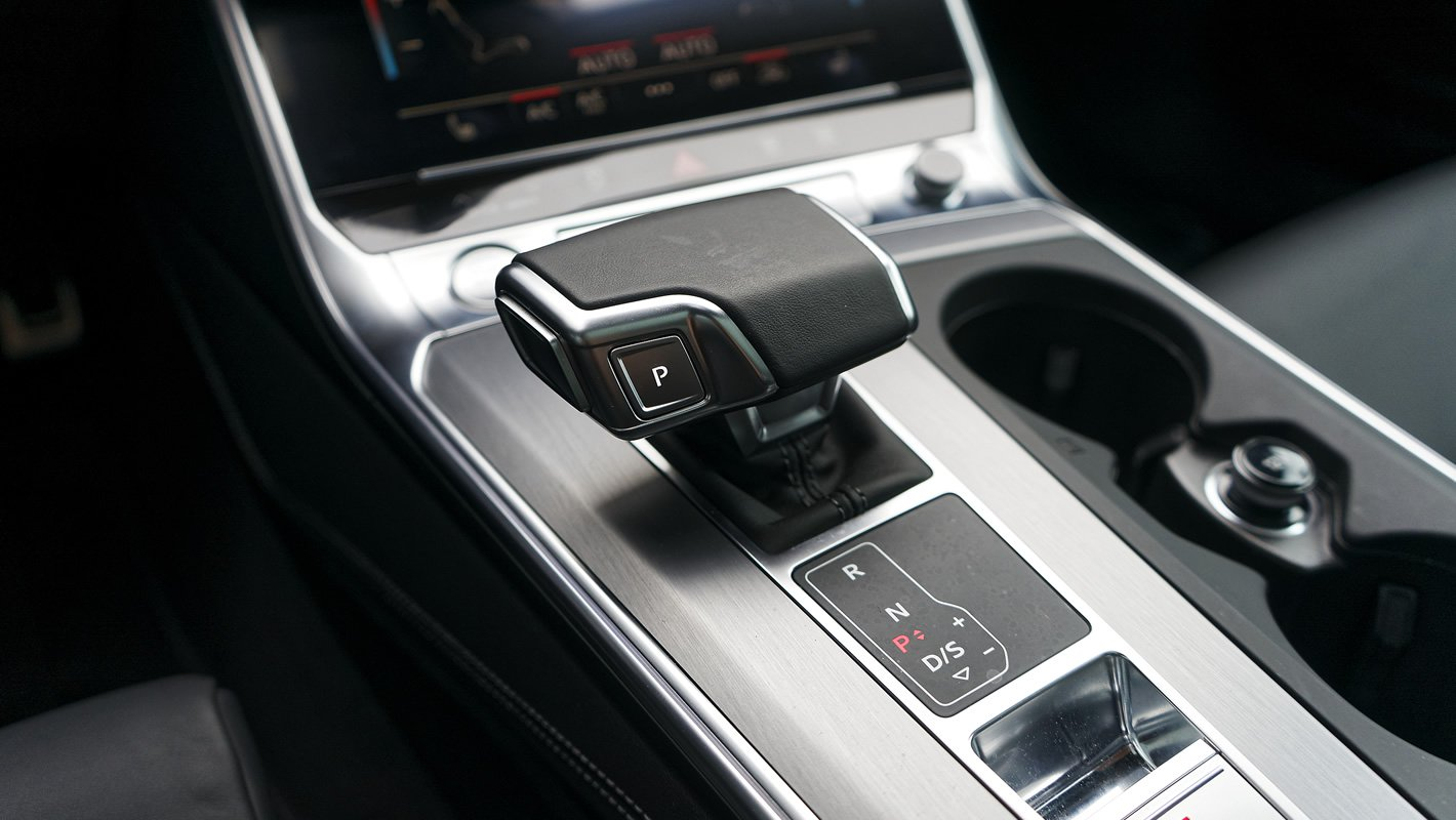 Audi A6 - lewarek skrzyni biegów tiptronic