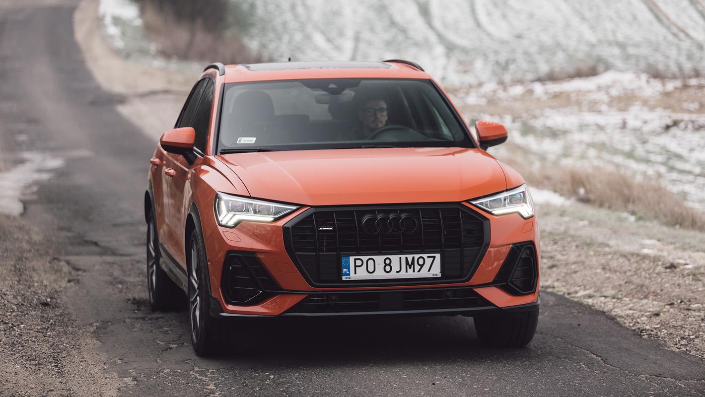 Audi Q3 2019 z przodu