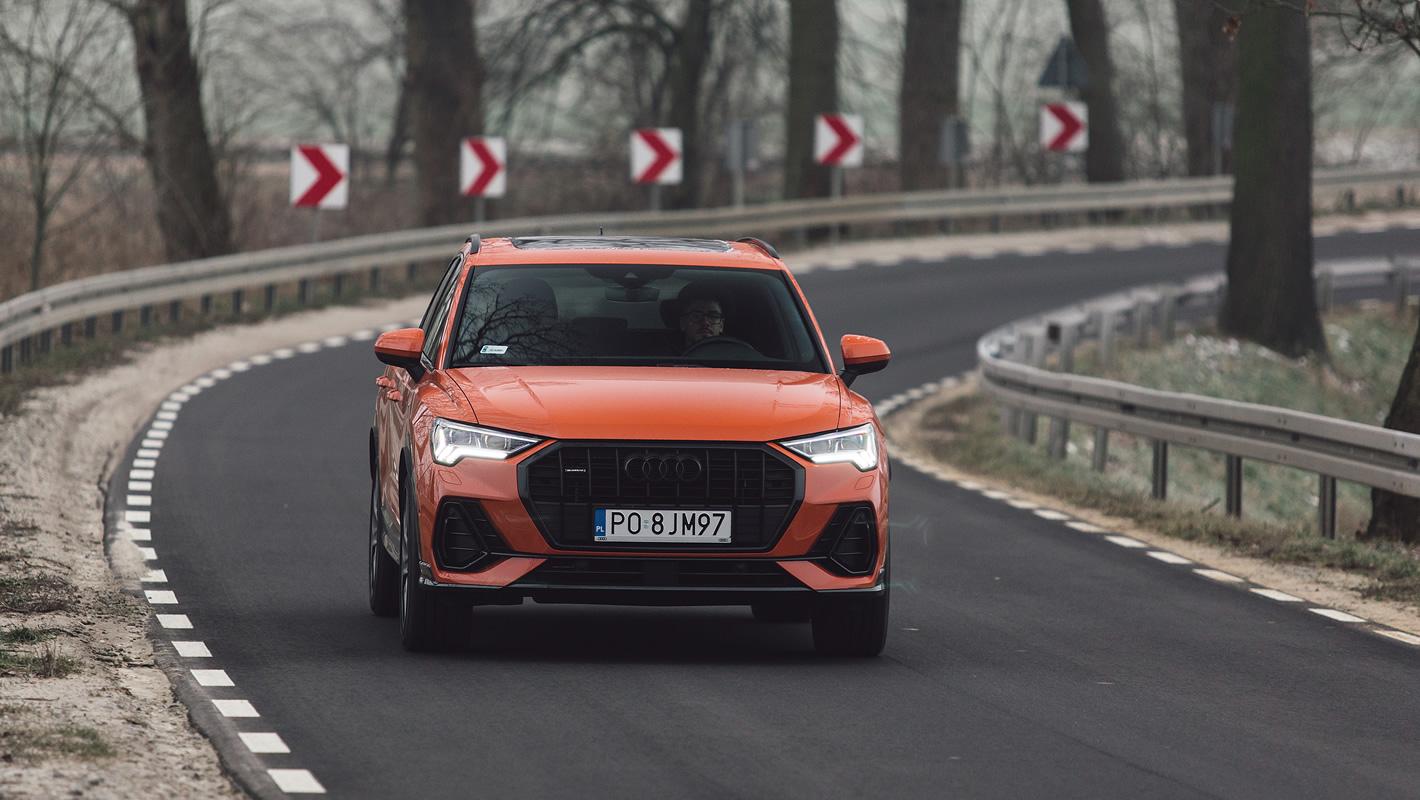Audi Q3 2019 - jazda próbna