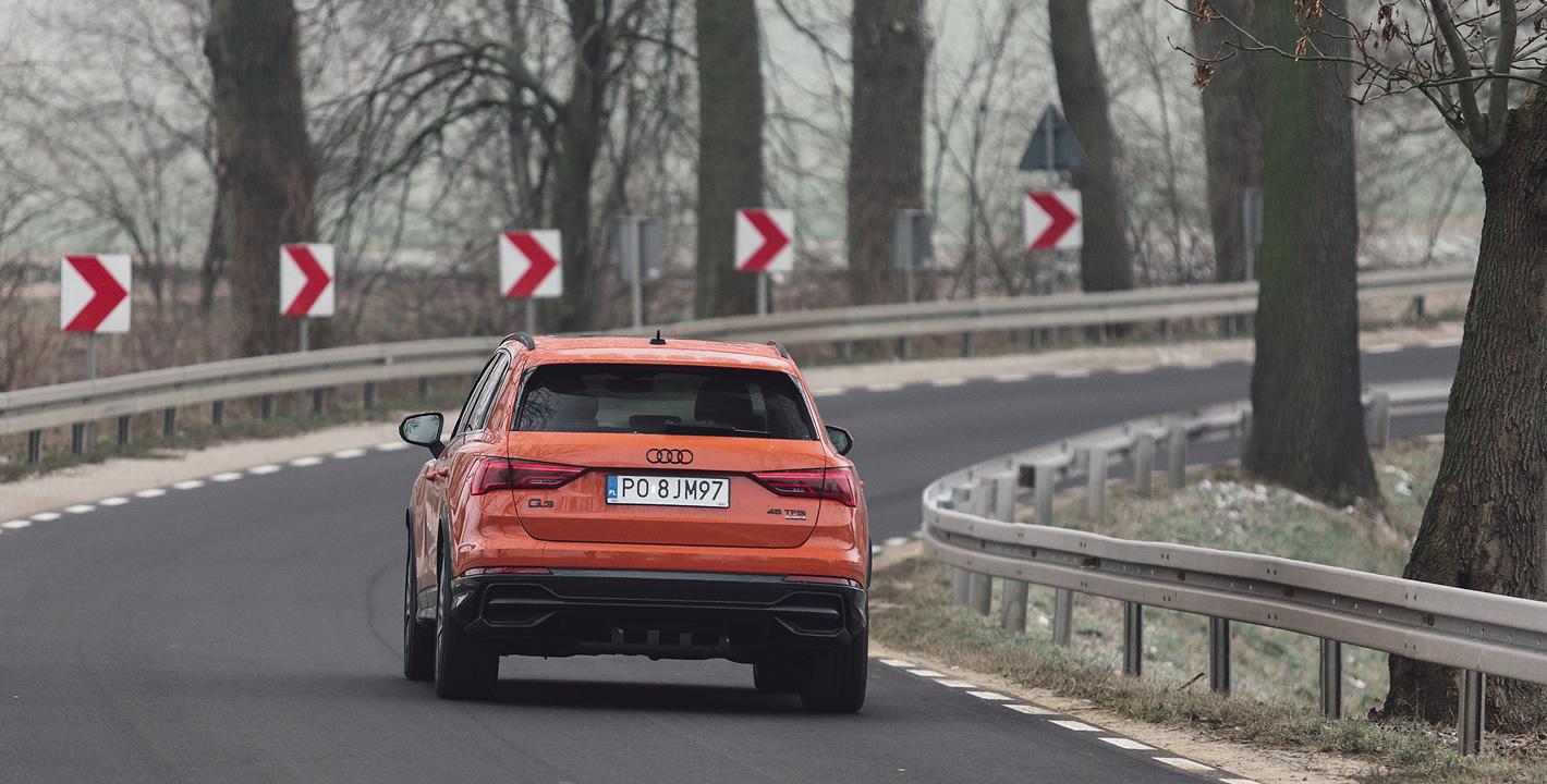 Audi Q3 2019 - sztywne zestrojenie