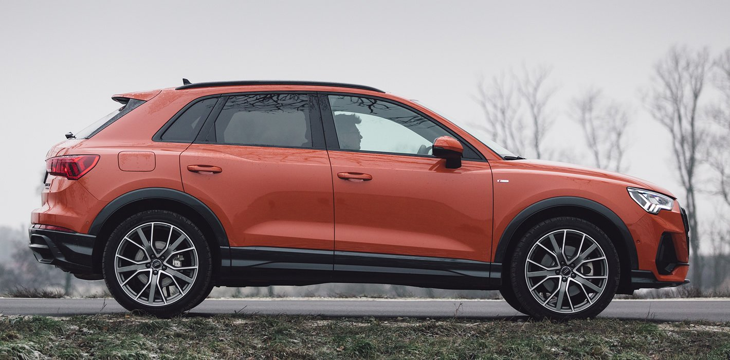 Audi Q3 2019 - przestronność