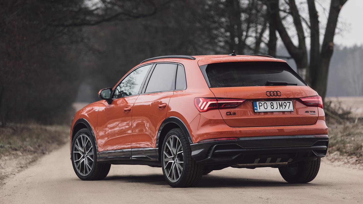 Audi Q3 2019 z tyłu
