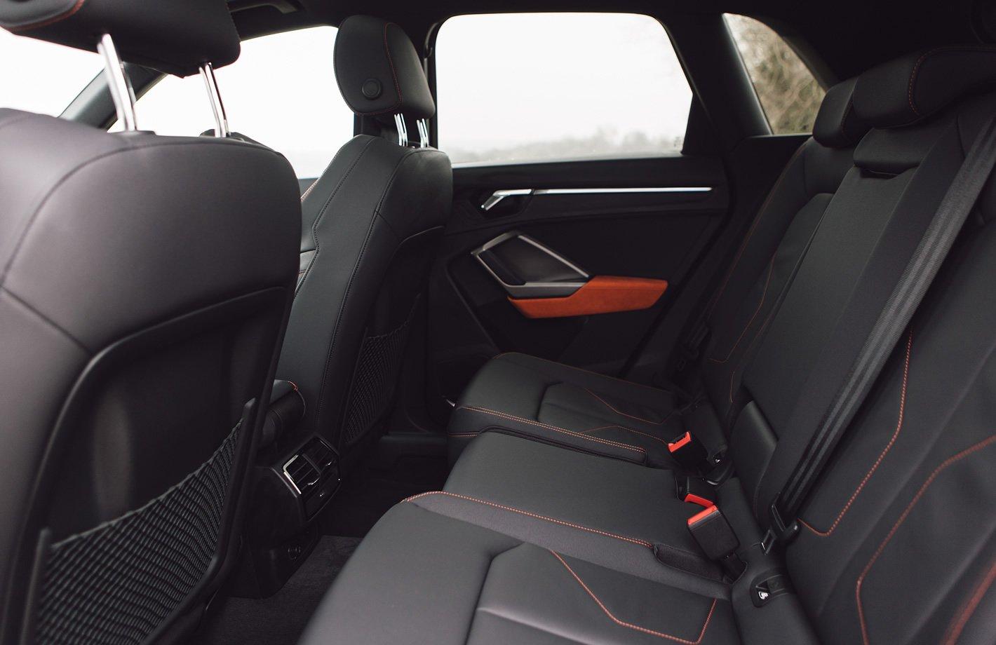 Audi Q3 2019 - ilość miejsca z tyłu