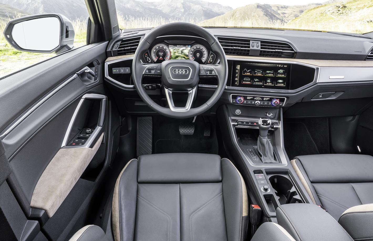 Audi Q3 2019 - wnętrze