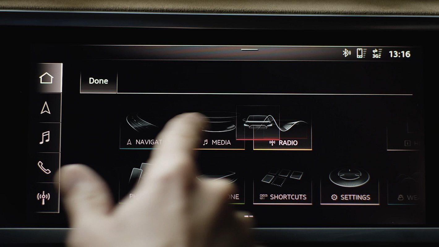 Audi Q3 2019 - konfigurowalne menu systemu MMI
