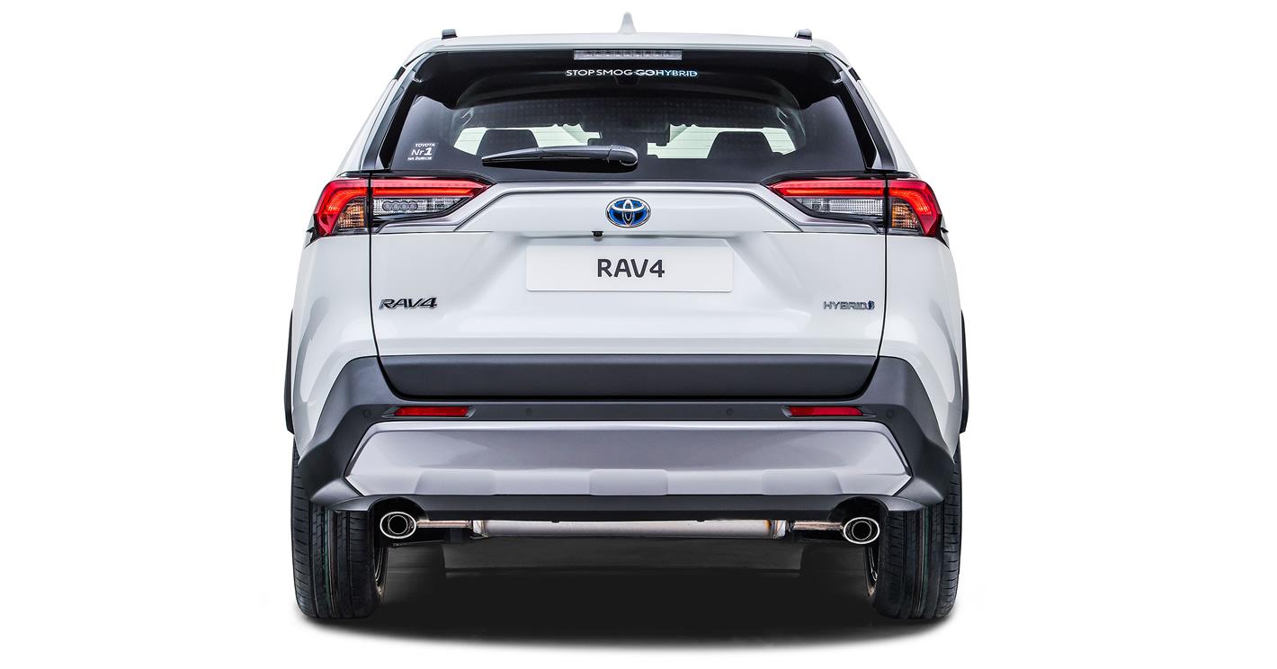 Toyota RAV4 2019 z tyłu