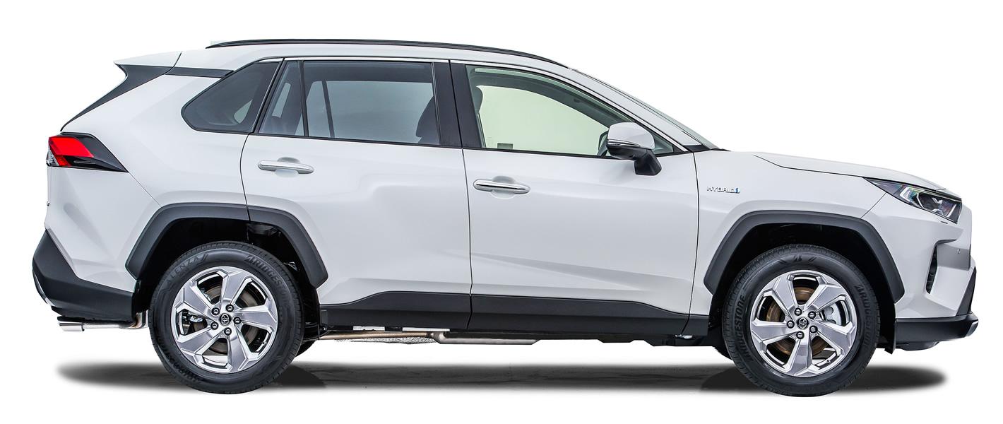 Toyota RAV4 2019 z boku