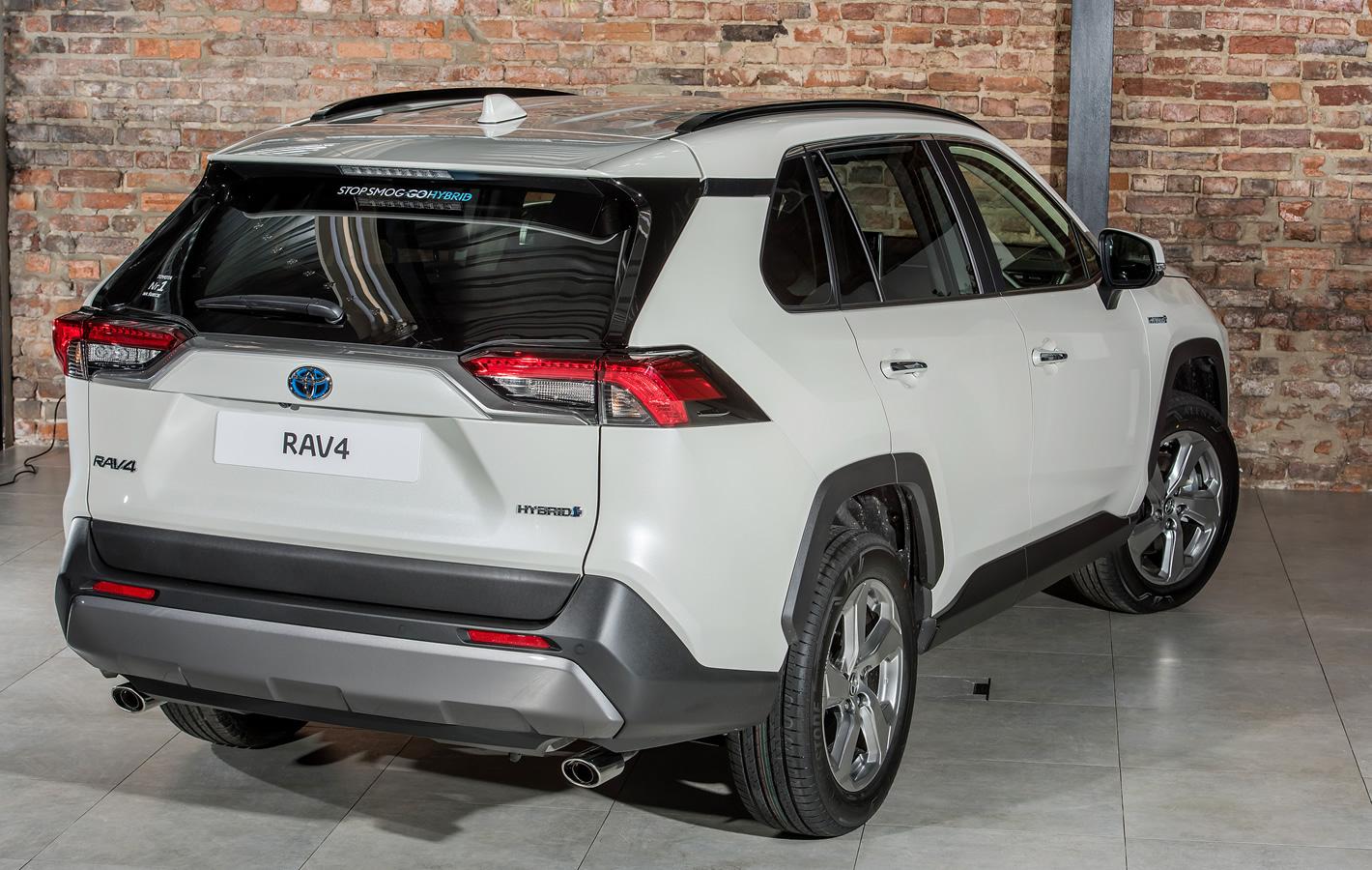Toyota RAV4 2019 - ekran komputera