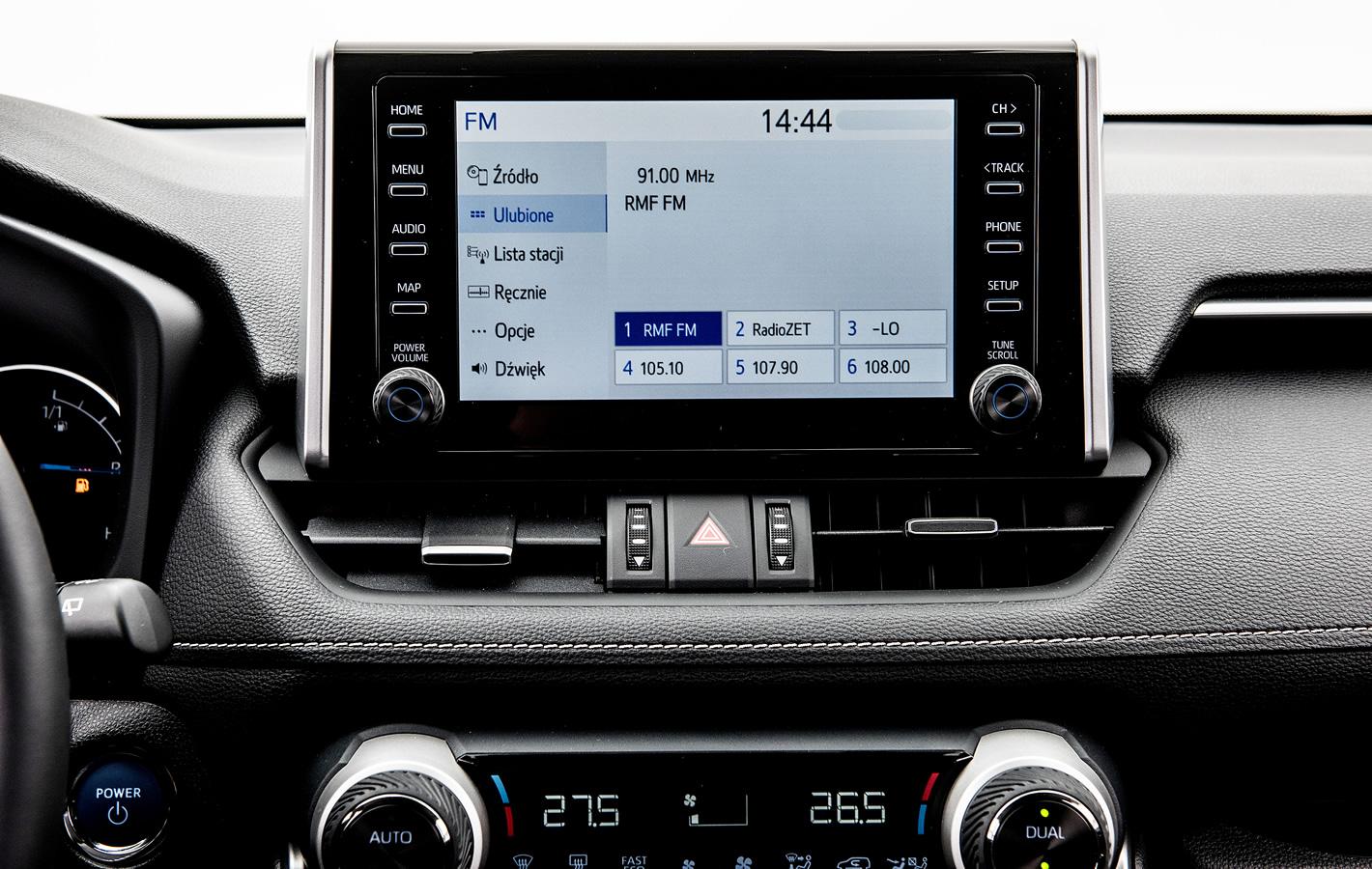 Toyota RAV4 2019 - system multimedialny