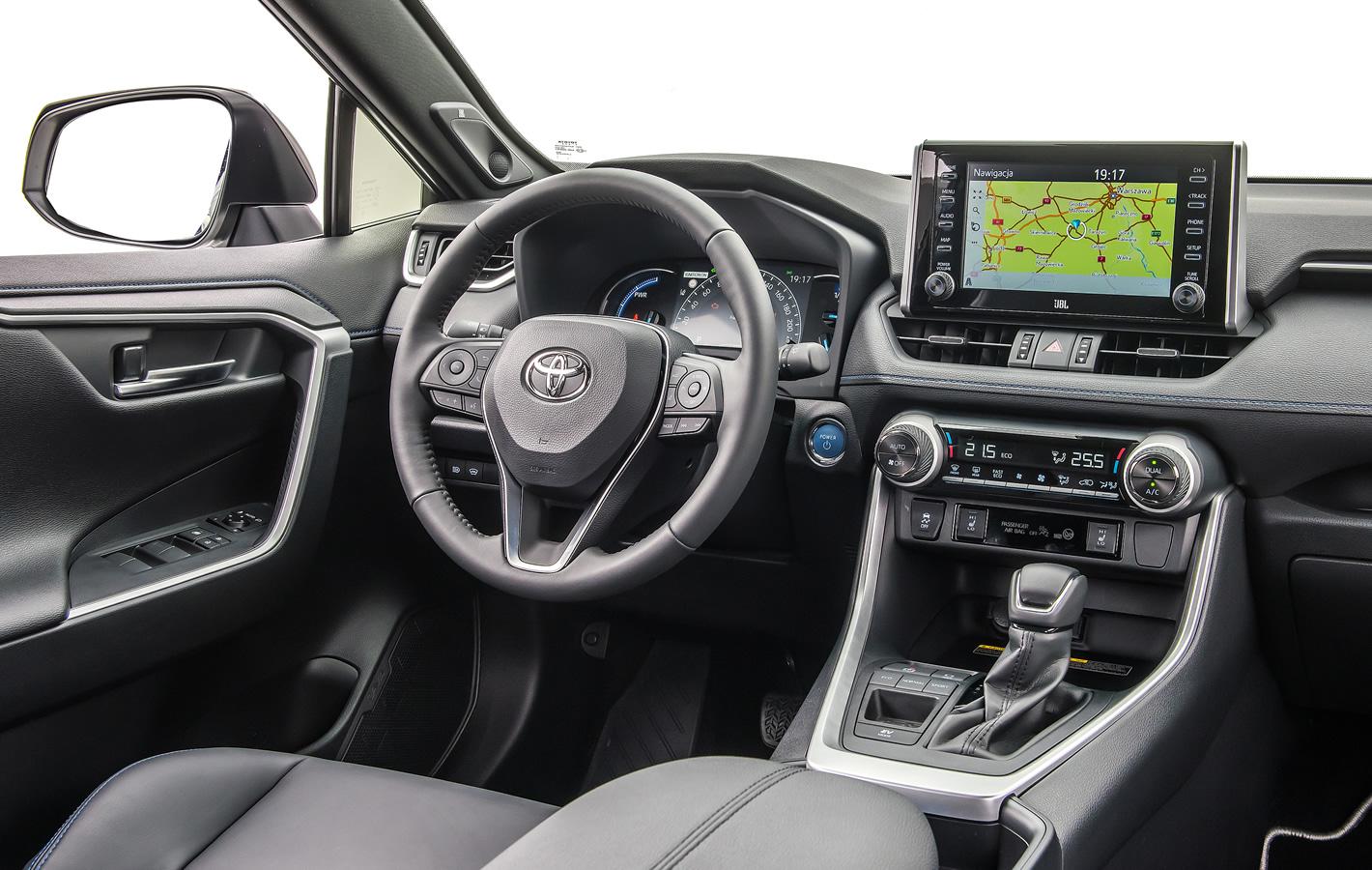 Toyota RAV4 2019 - wnętrze