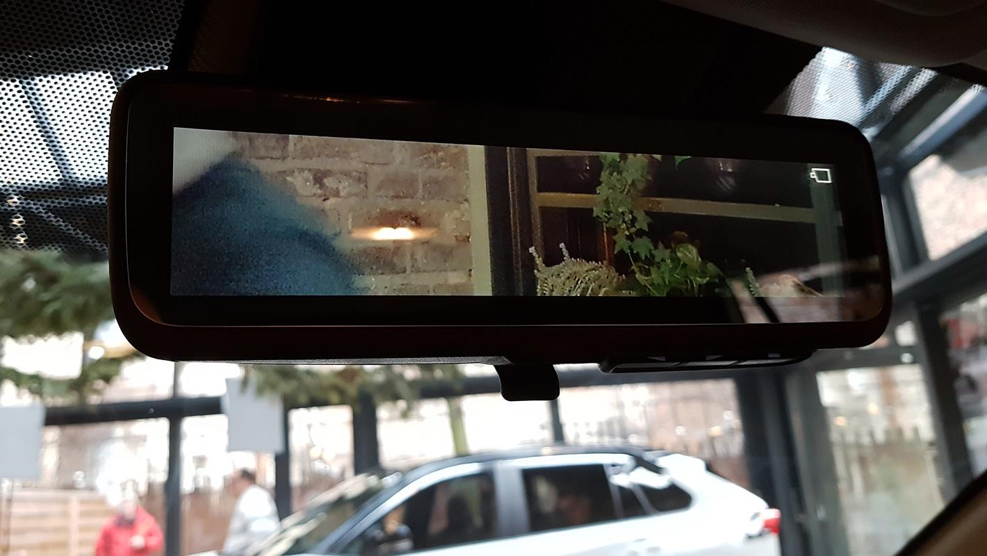Toyota RAV4 2019 - wirtualne lusterko wsteczne