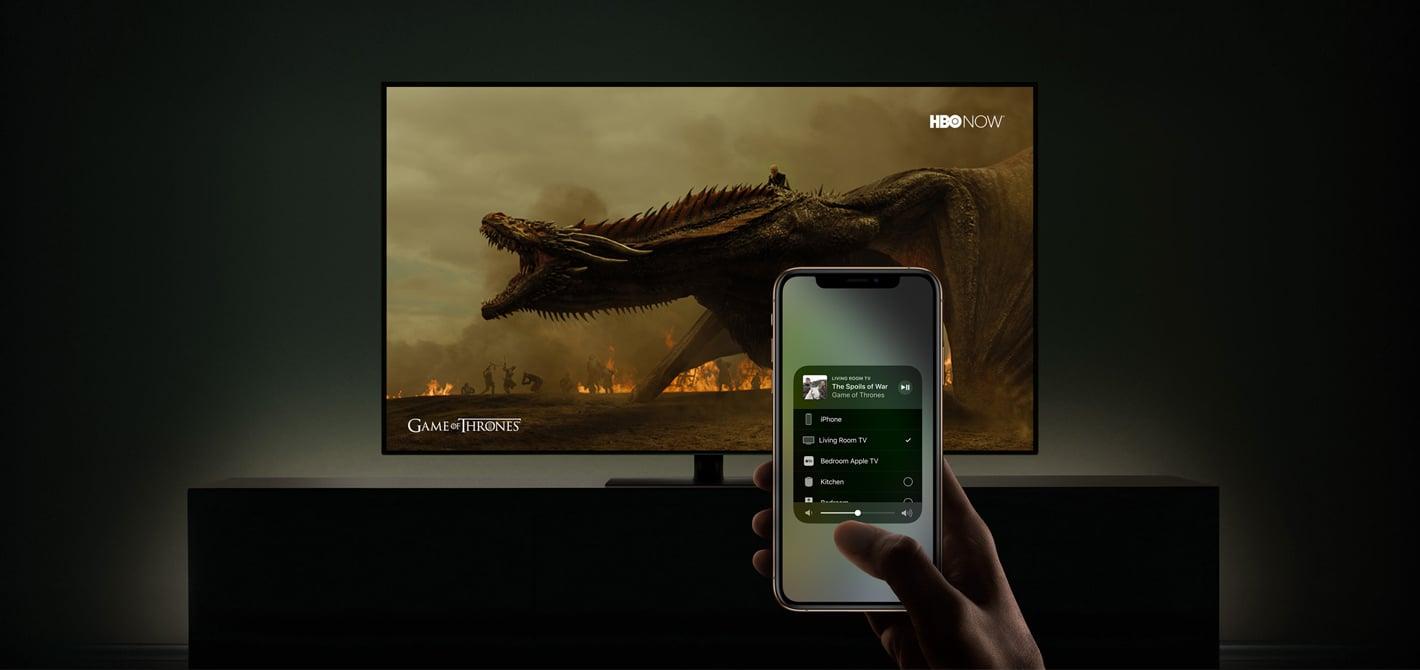 jaki telewizor wspiera AirPlay