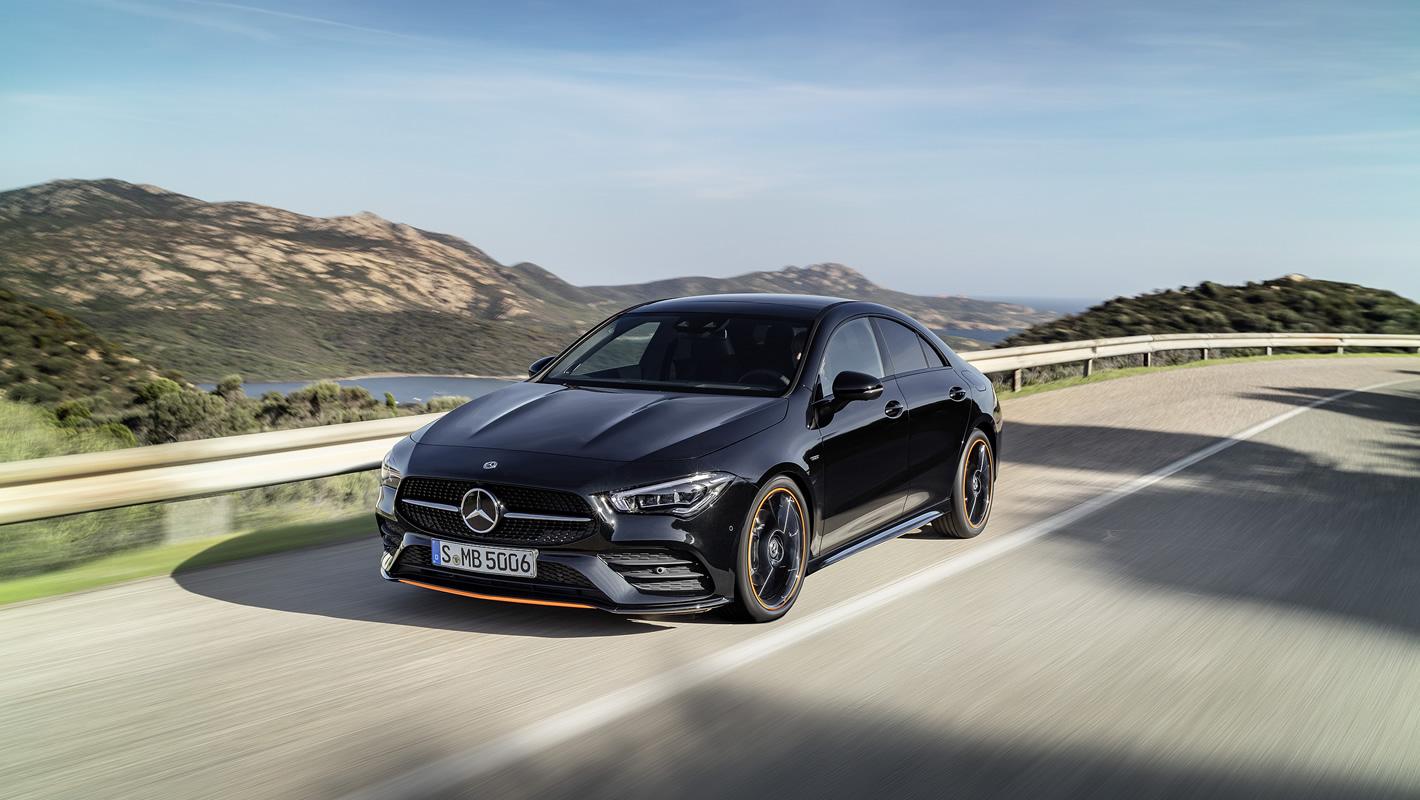 Mercedes-Benz CLA Coupe 2019 - z zewnątrz