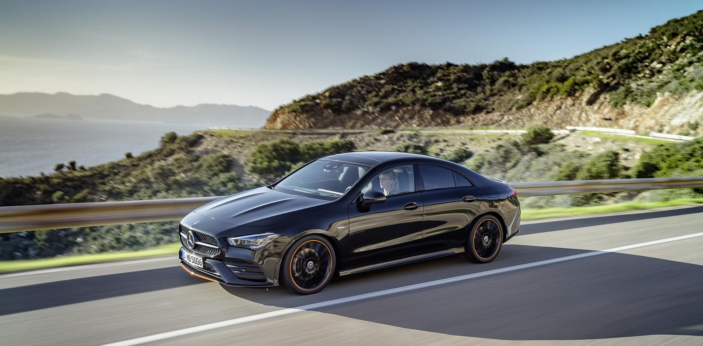 Mercedes-Benz CLA Coupe 2019 - wygląd