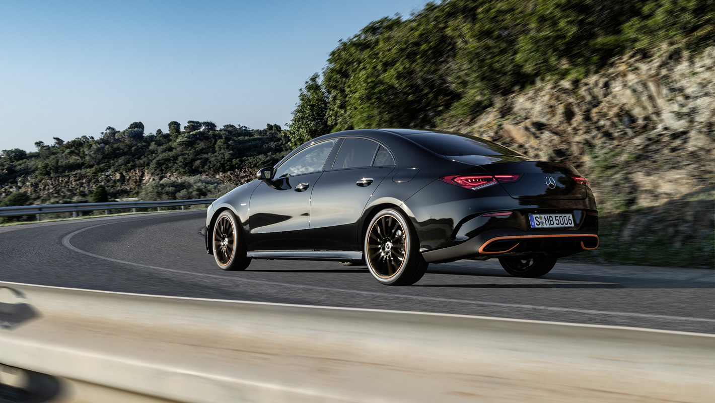 Mercedes-Benz CLA Coupe 2019 - stylistyka