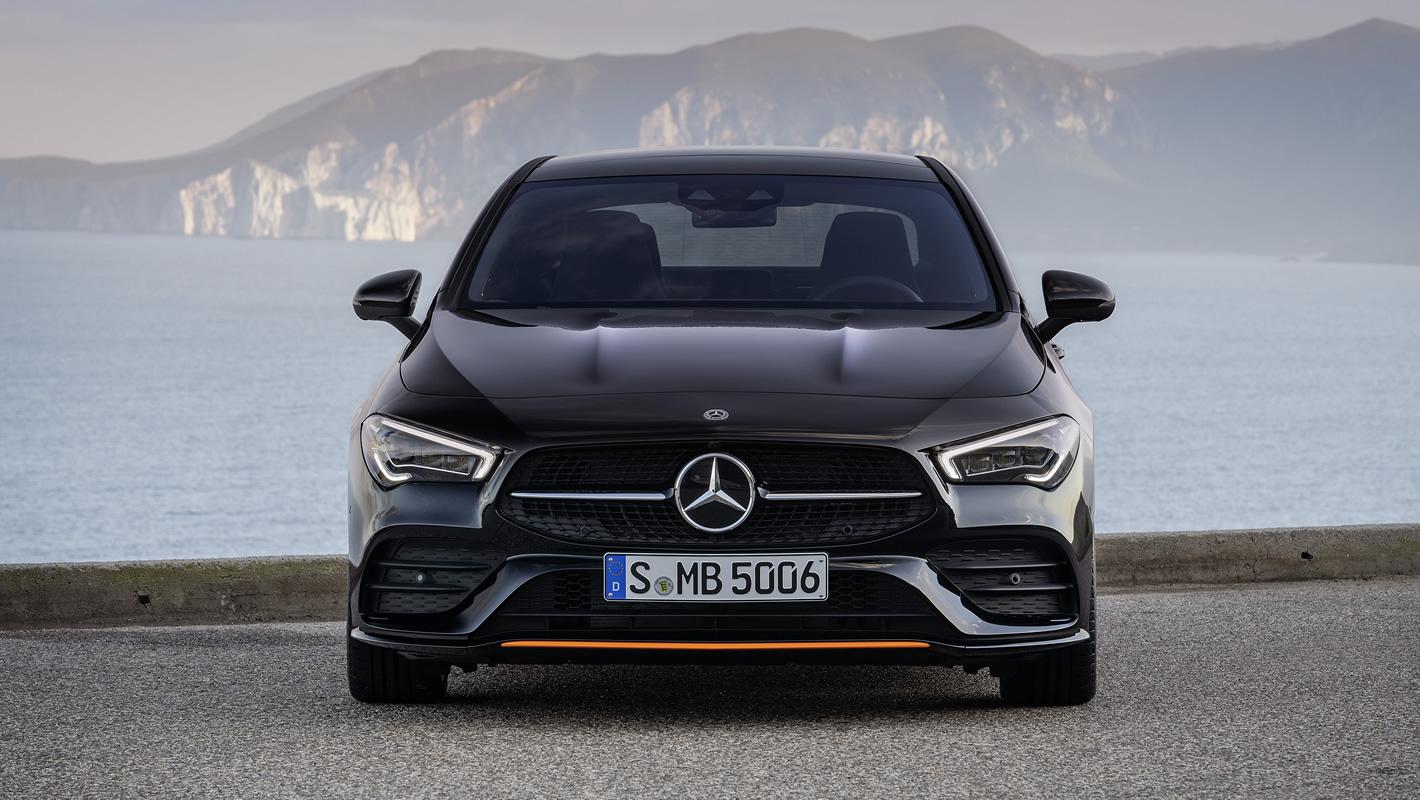 Mercedes-Benz CLA Coupe 2019 z przodu