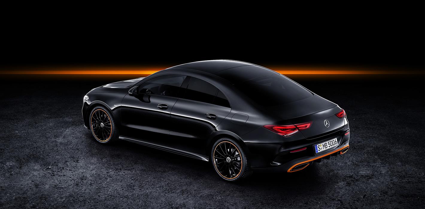 Mercedes-Benz CLA Coupe 2019 - z tyłu
