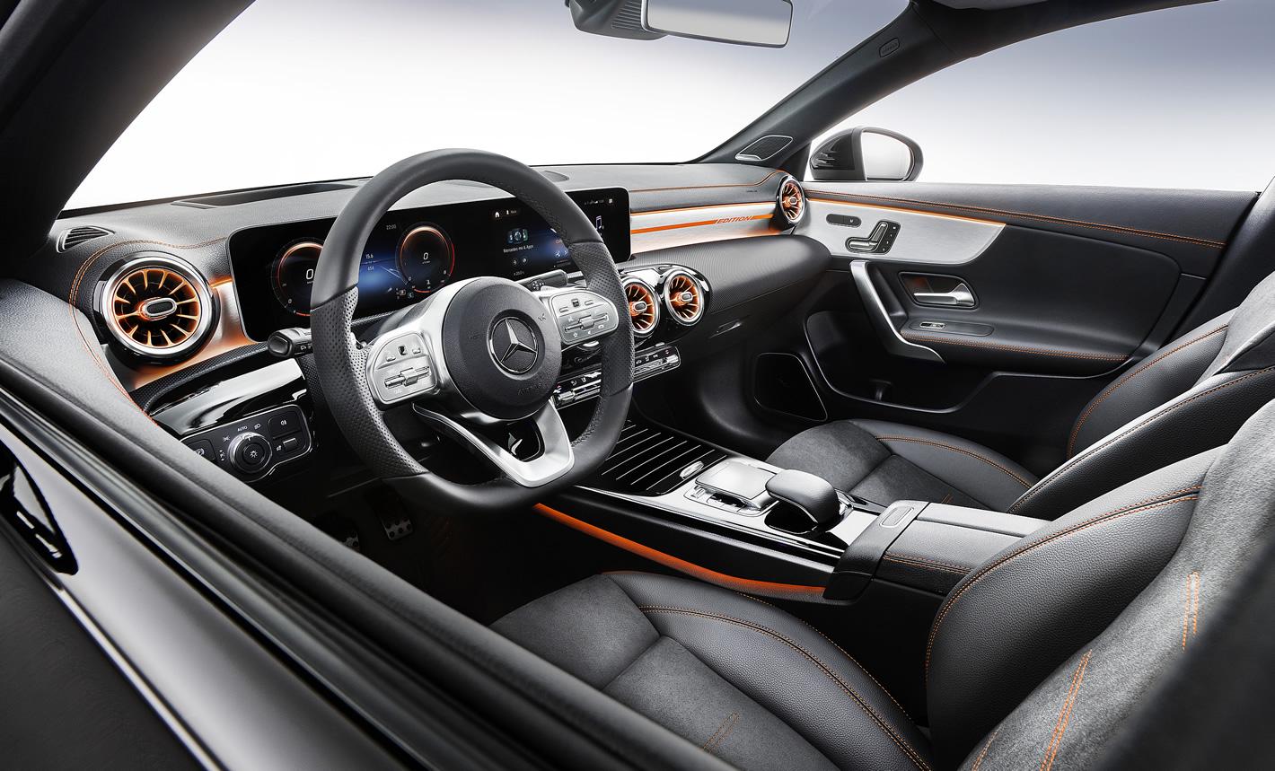 Mercedes-Benz CLA Coupe 2019 - wnętrze