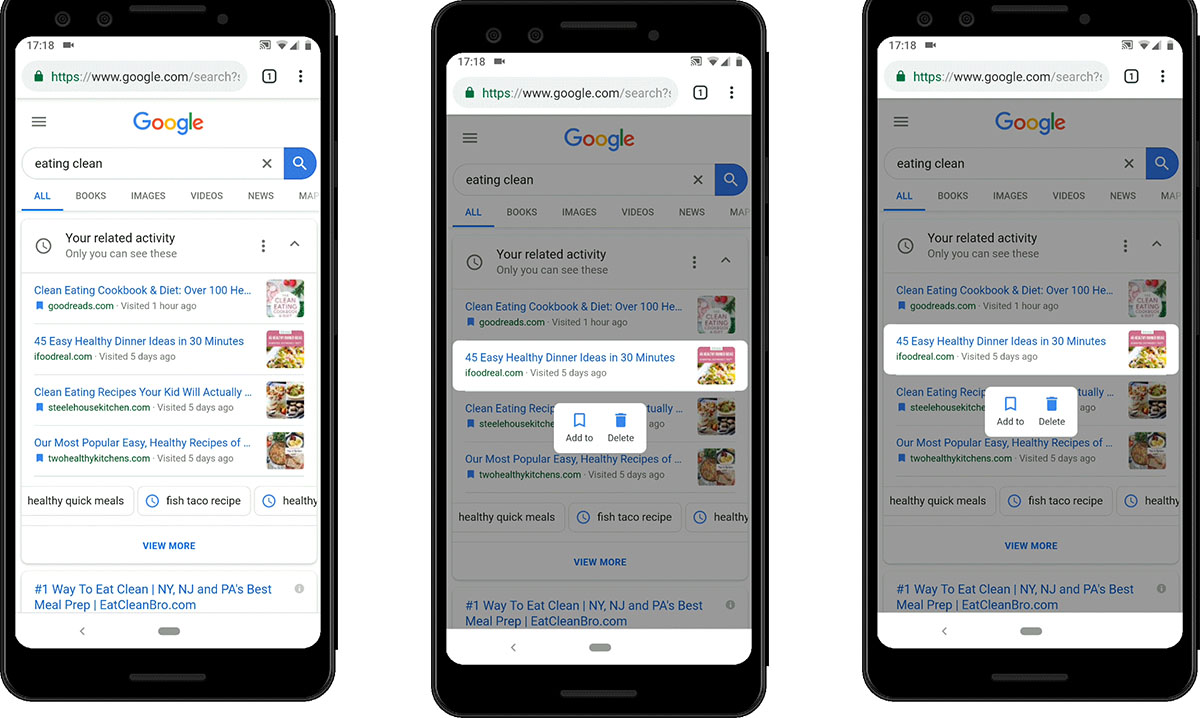 google karta aktywnosci