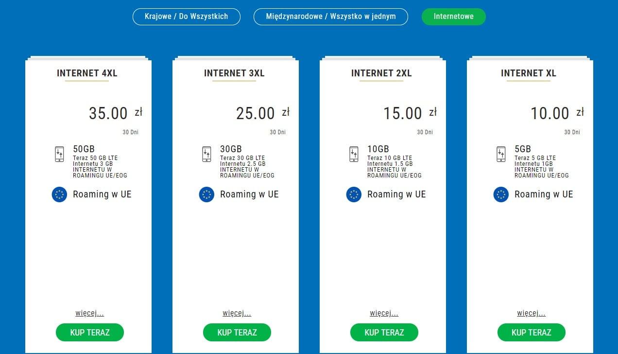 Internet na kartę Lycamobile