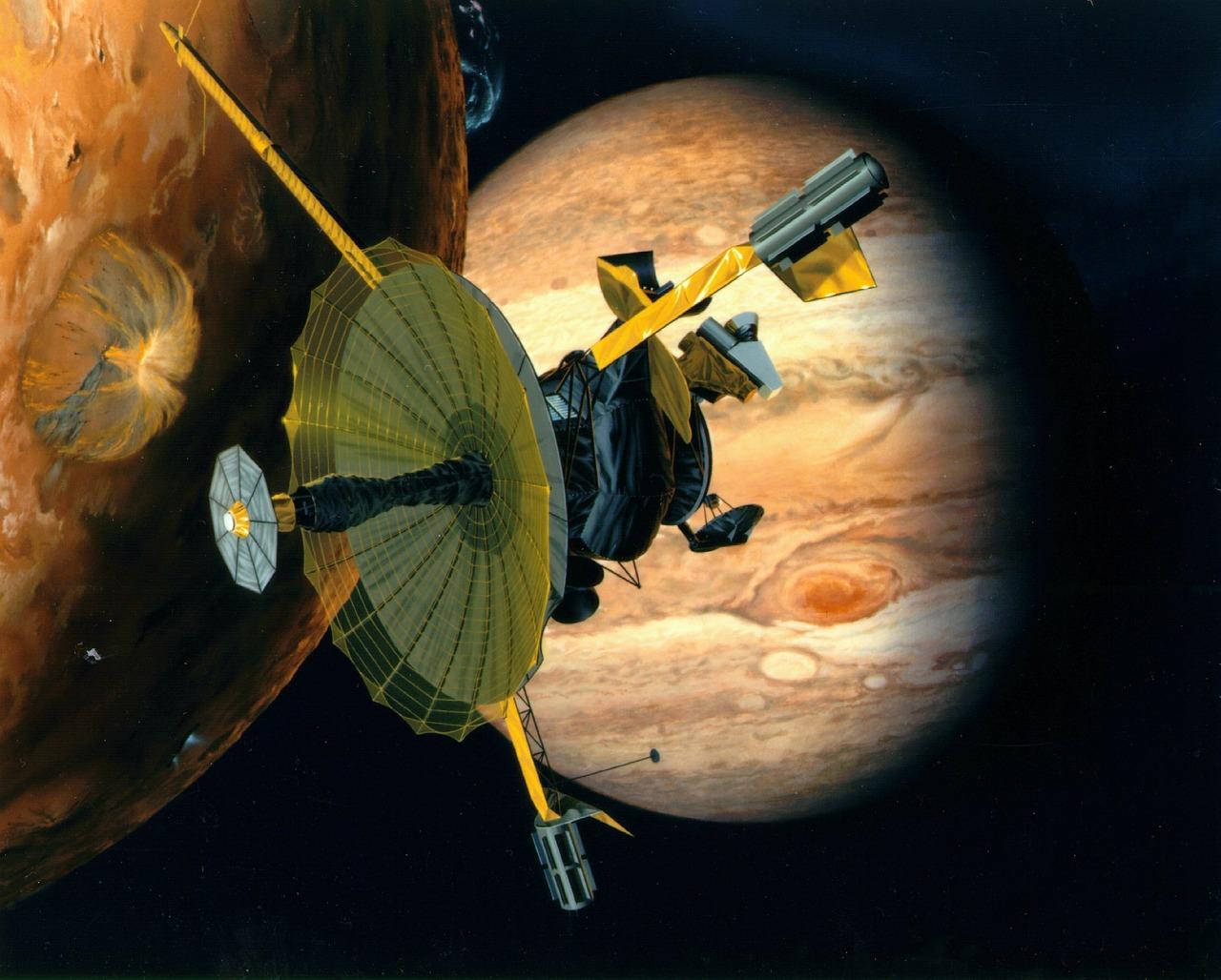 Galileo satelity