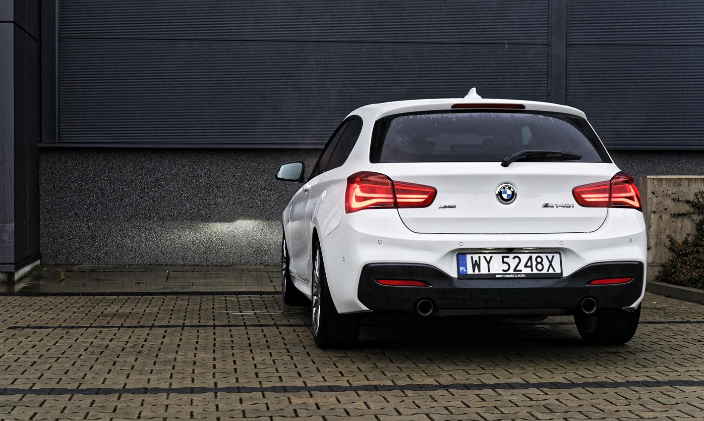 BMW M140i xDrive w trybie Sport+